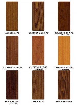 altri colori legno