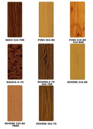 colori finto legno